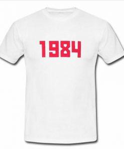 1984 Logo T Shirt