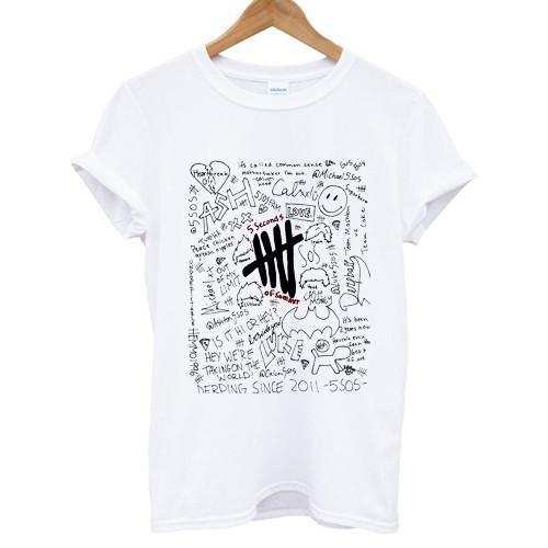 5 Seconds Of Summer Collage T-shirt