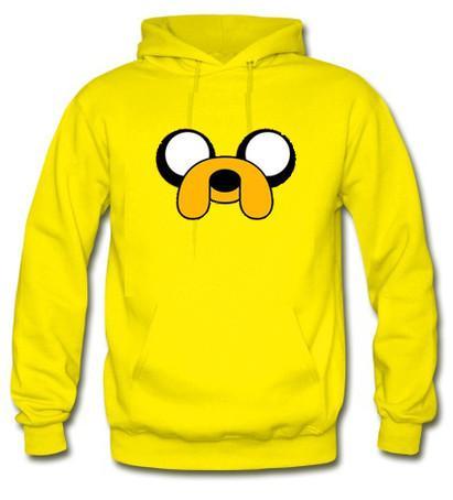 Adventure time jake face Hoodie