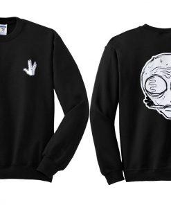 Alien Sweatshirt Twoside