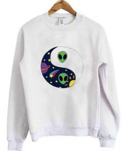 Alien Ying Yang Sweatshirt