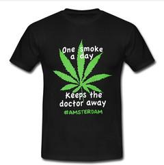 Amsterdam One Smoke A Day T-Shirt