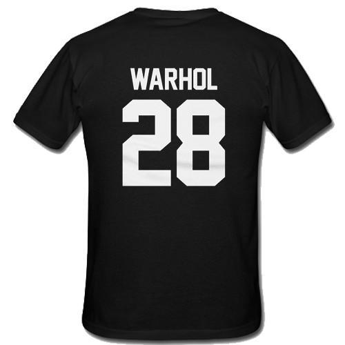 Andy Warhol 28 T-Shirt Back