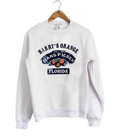 Barry's Orange hand picked florida Sweatshirt