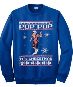 Bruno Mars Pop Pop It's Christmas Sweatshirt