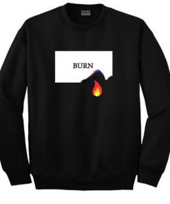 Burn Fire Sweatshirt