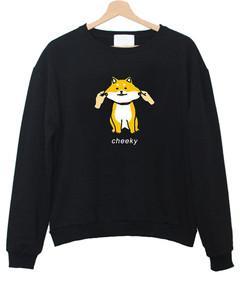 Cheeky Shiba Sweatshirt