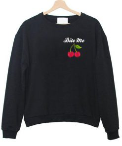 Cherry Bite Me Sweatshirt