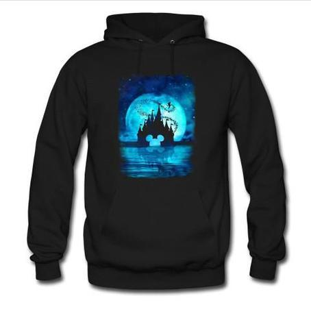 Disney Back Moon in The Night Hoodie