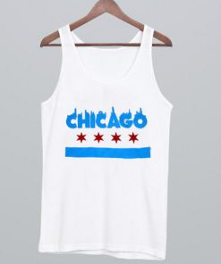 Dolan Twins Chicago Flag Tank Top