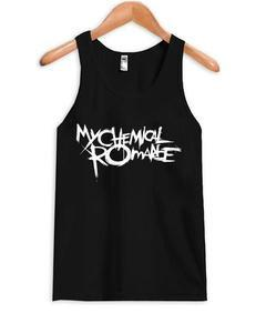 My chemical romace tank top