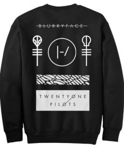 Twenty One Pilots Blurryface Sweatshirt Back