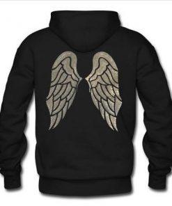 Victoria's Secret Angel Wing Hoodie back