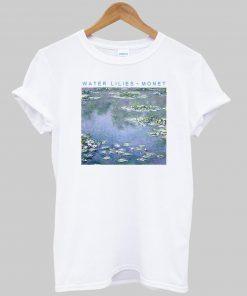 WATER LILIES MONET T-shirt