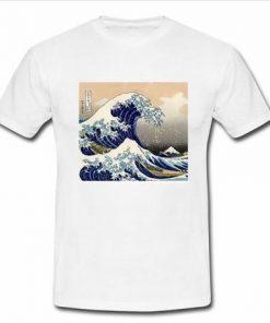 Wavy White T Shirt