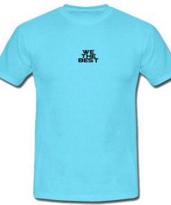 We The Best Logo T-Shirt
