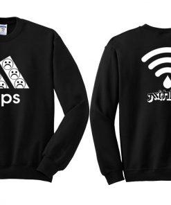 Wifi Tears Sweatshirt Twoside