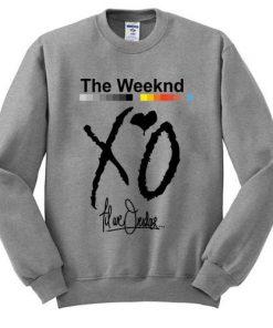 XO The Weeknd sweatshirt