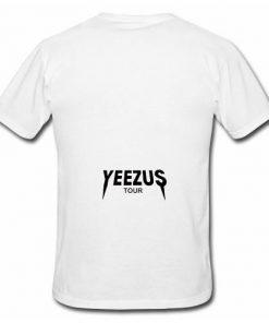 Yeezus Tour Logo T-Shirt Back