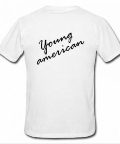 Young American T-shirt back