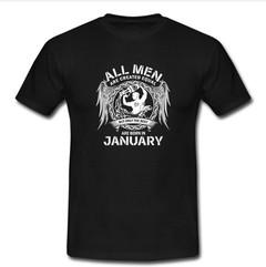 all men january T-shirt