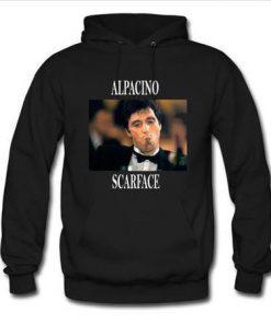 alpacino scarface hoodie