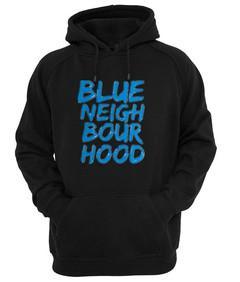 blue neigh bour hood hoodie