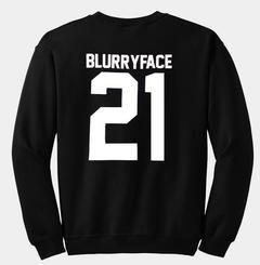 blurryface 21 sweatshirt back