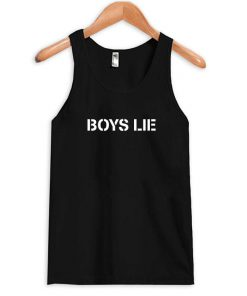 boys lie tank top