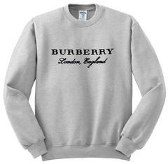 burberry london england sweatshirt