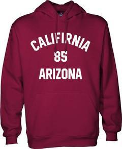 california 85 arizona hoodie
