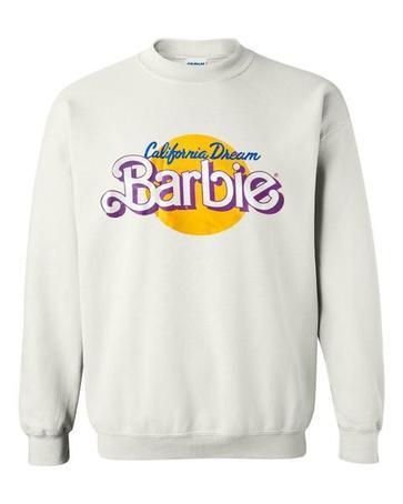california dream barbie logo sweatshirt