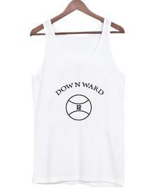 dow n ward 12 ball Tank top