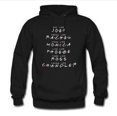 eat like joey rachel monica hoodie