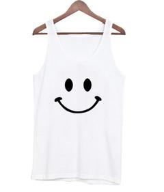 face smile tank top