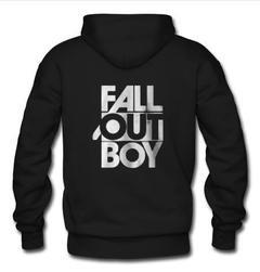 fall out boy hoodie back