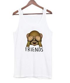 friends monkey Tank top