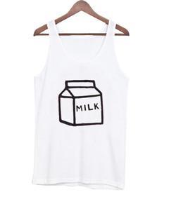 milk tank top