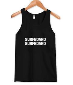 surfboard surfboard tank top