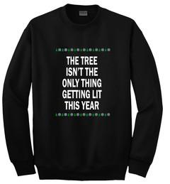 the tree isnt the only thing sweatshirt