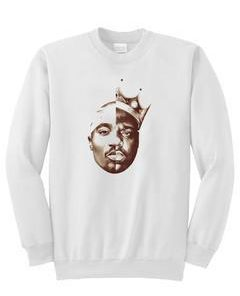 tupac and biggie sweatshirt