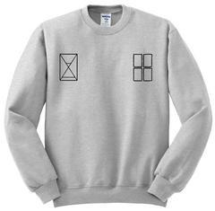 twenty one pilots tyler joseph tattoo sweatshirt