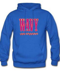 wavy hoodie