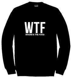 wtf sweatshirt