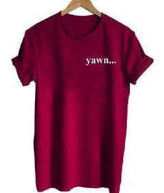 yawn T-shirt