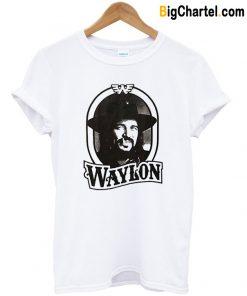 Waylon Jennings 79 Tour T Shirt-Si