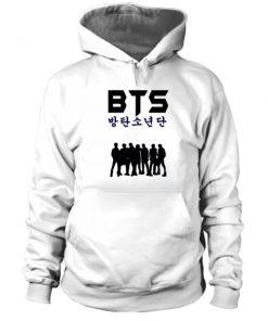 BTS Silhouette Hoodie-Si