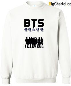 BTS Silhouette Sweatshirt-Si