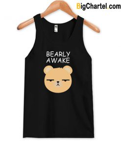 Bearly Awake Tank Top-Si