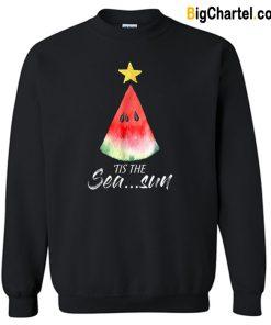 Christmas In July Tis The Sea Sun Sweatshirt-Si